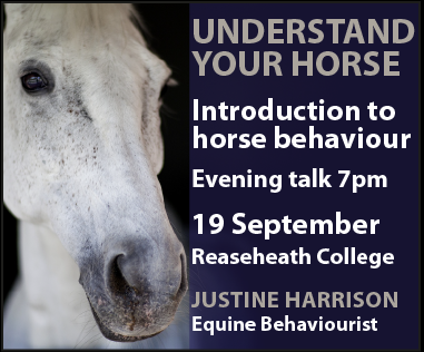 Justine Harrison Talk Reaseheath (Wirral Horse)